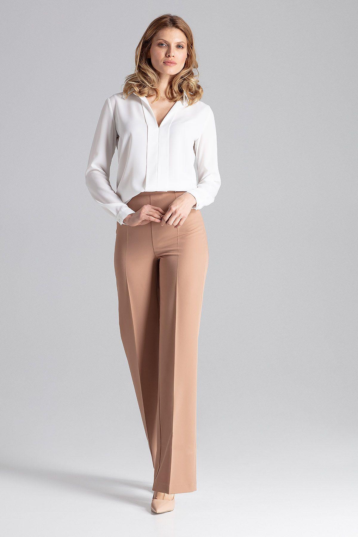 Brown Long Dress Trousers