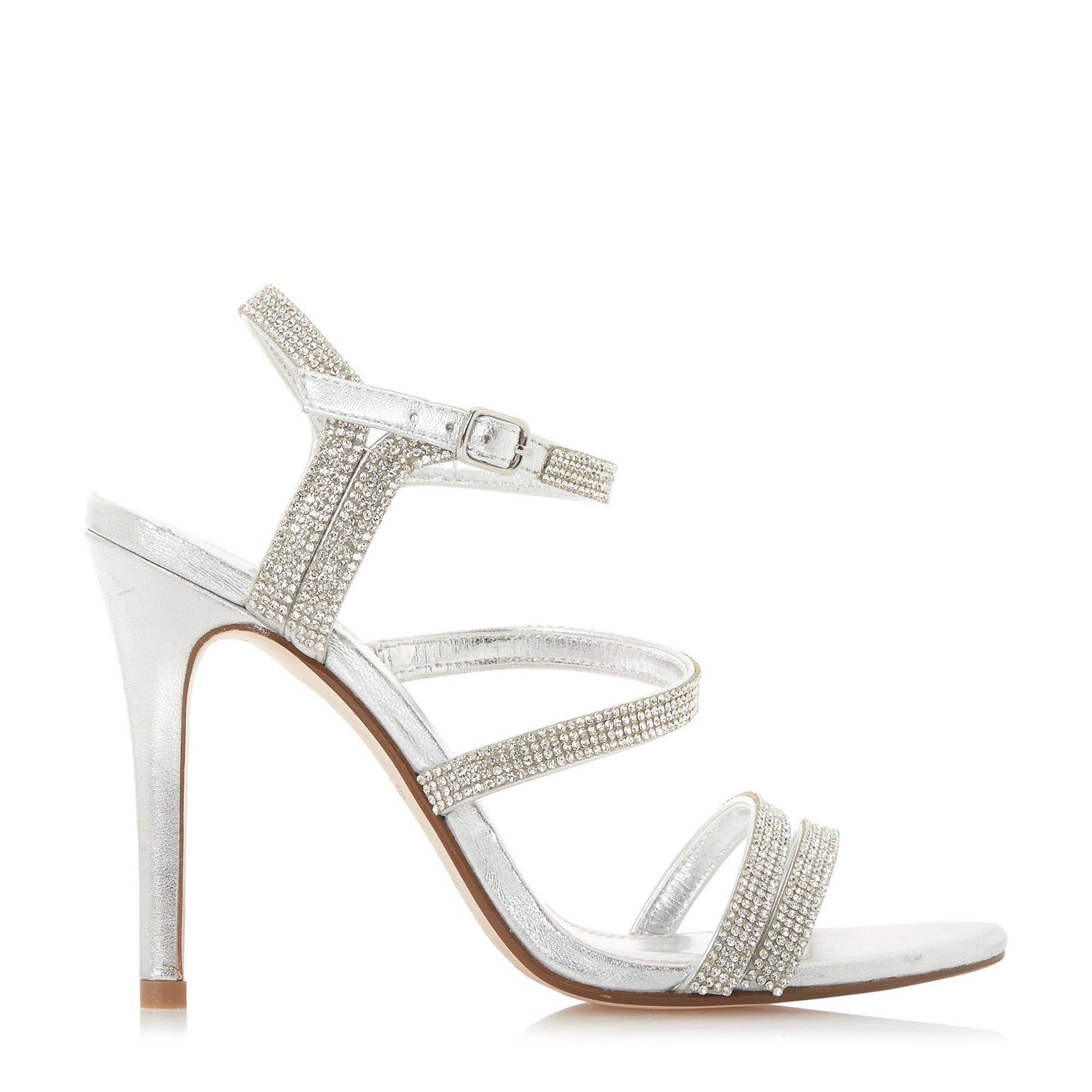 Dune Ladies MADONA Embellished Strappy High Heel Sandals