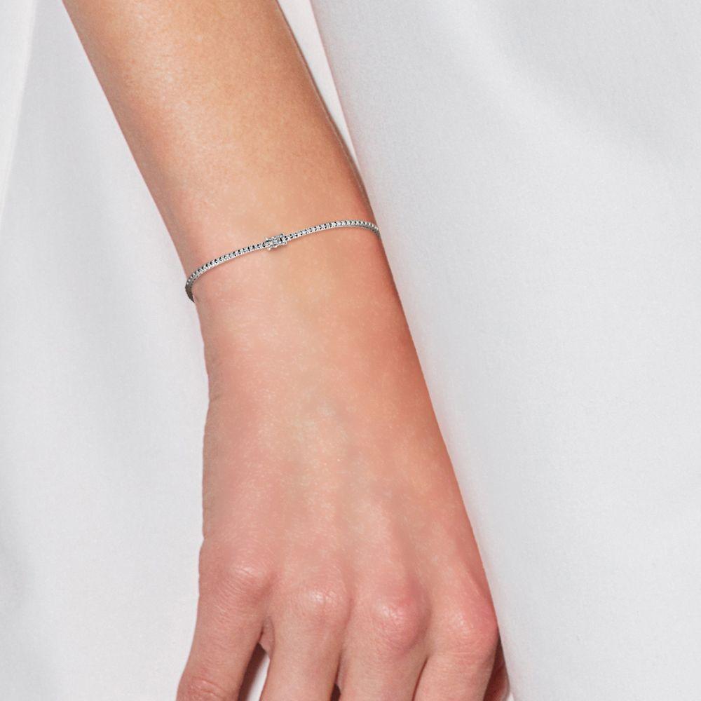 DIADEMA - Bracelet - Tennis - Prestige Jewelery - White Gold