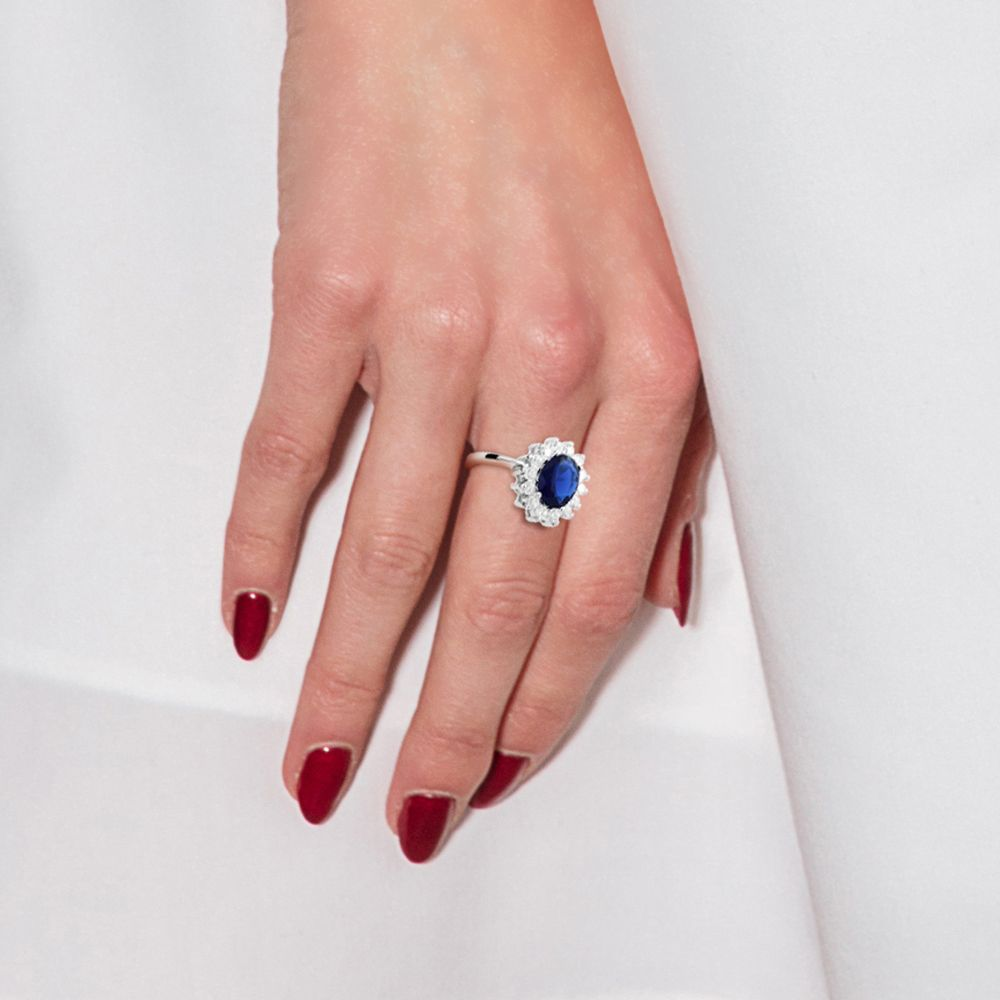 DIADEMA - Ring - Pure White Collection