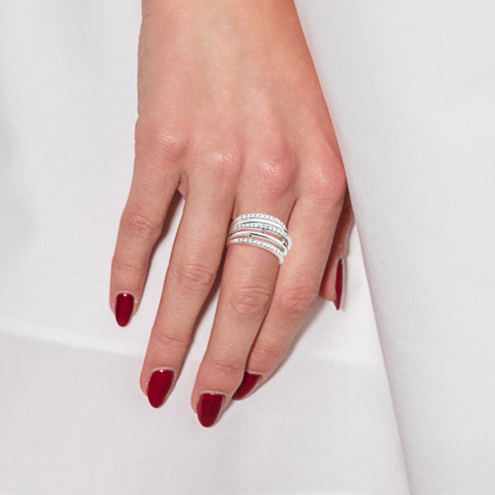 DIADEMA - Ring - Swarovski HeartCollection