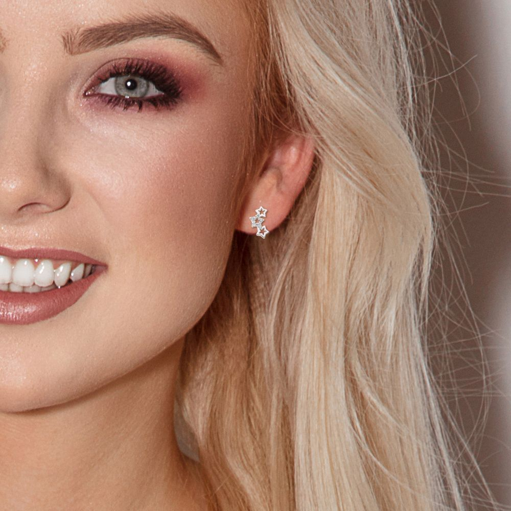 DIADEMA - Earrings - Star - Love Jewelry Collection