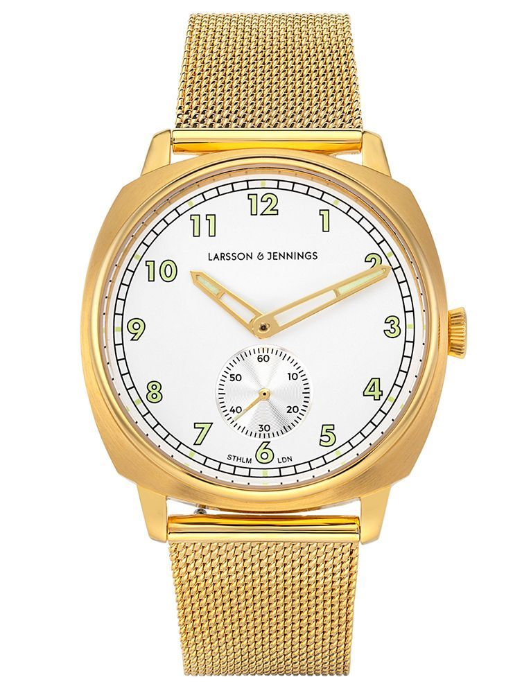 Meridian Milanese 38mm Gold White