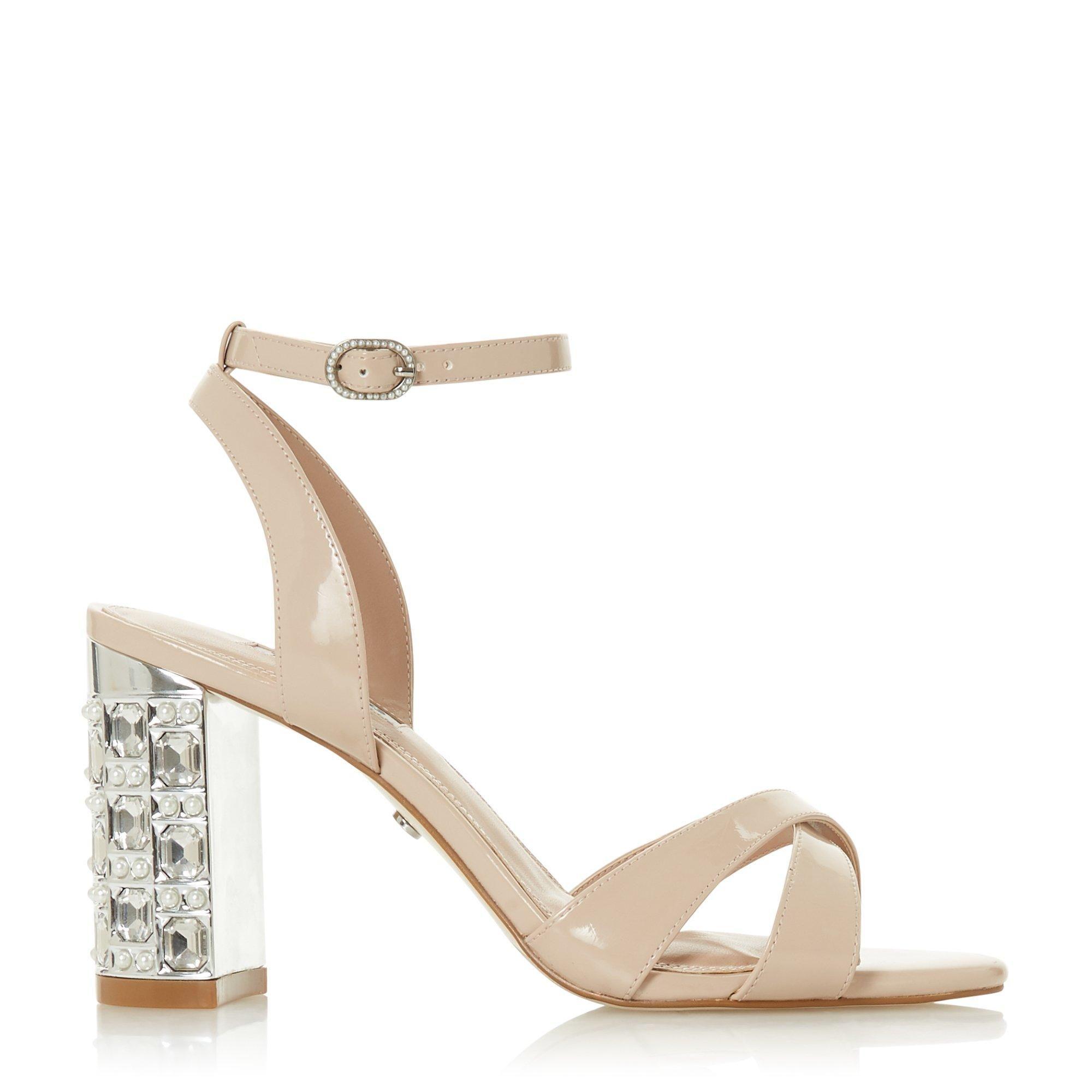 Dune Ladies MILLION Mid Block Heel Sandal