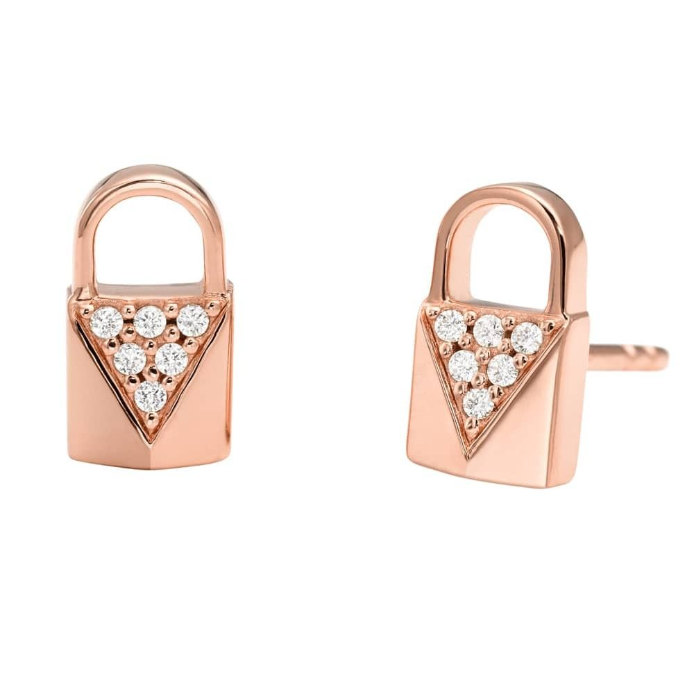 Michael Kors Padlock Earrings