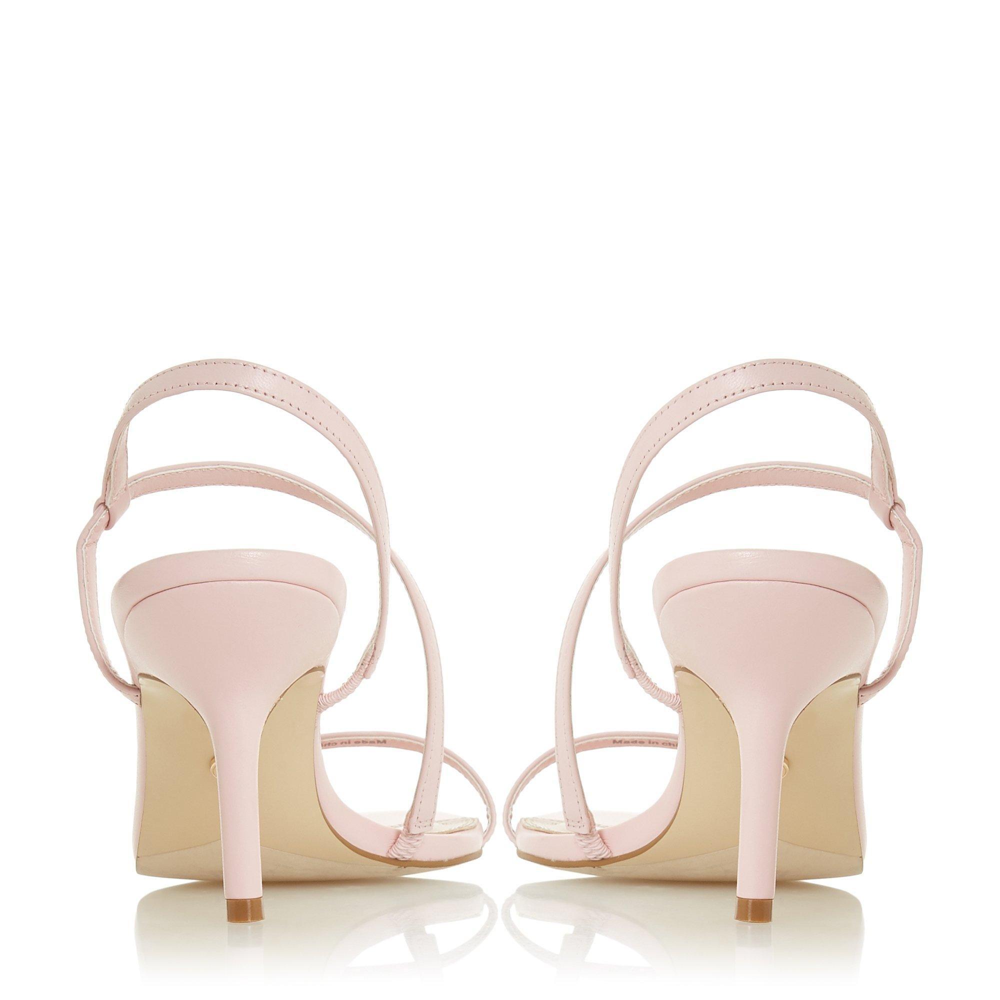 Dune Ladies MOJO Asymmetric Barely There Sandal