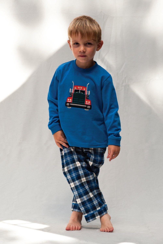 Boys Super Lorry Pyjamas