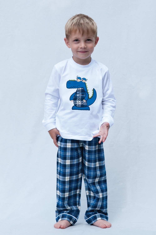 Cute Crocodile Boys Pyjamas