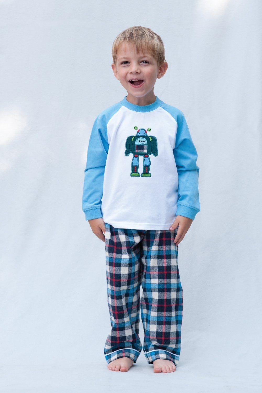 Robot Cotton Pyjamas