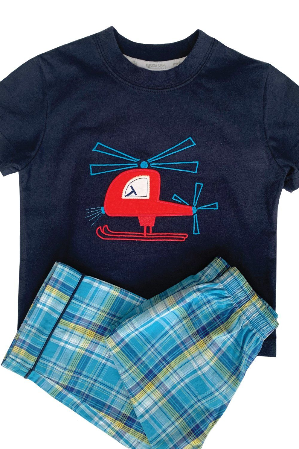 Red Helicopter Pyjama for boys