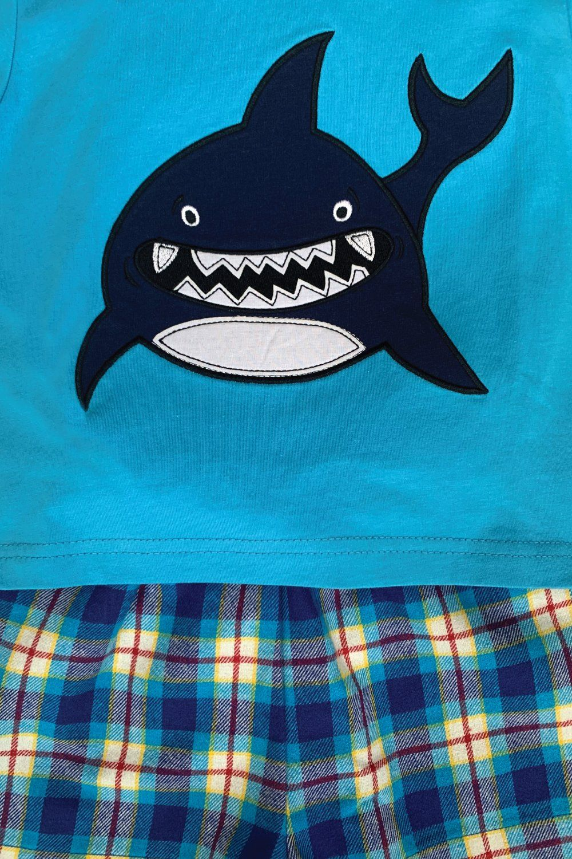 Shark Summer Pyjamas in Blue