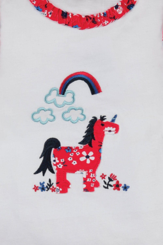 Unicorn short summer Pyjamas for Girls