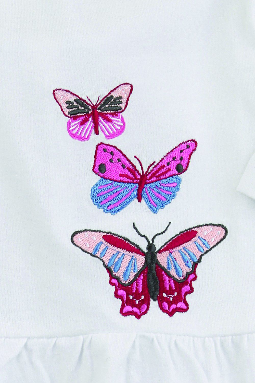 Girls Butterfly Rose  Pyjamas