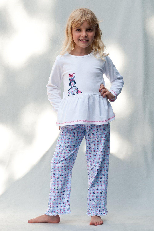 Girls Stacking Animal Pyjamas