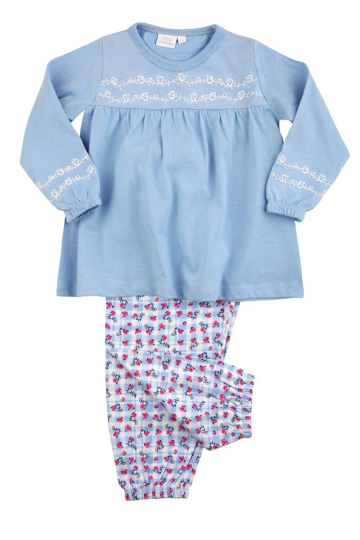Girls Floral Cotton Pyjamas