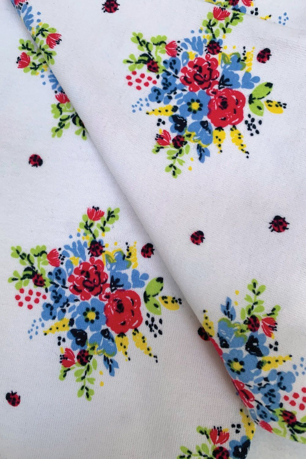 Floral Bouquet print Traditional Floral Pyjama for girls
