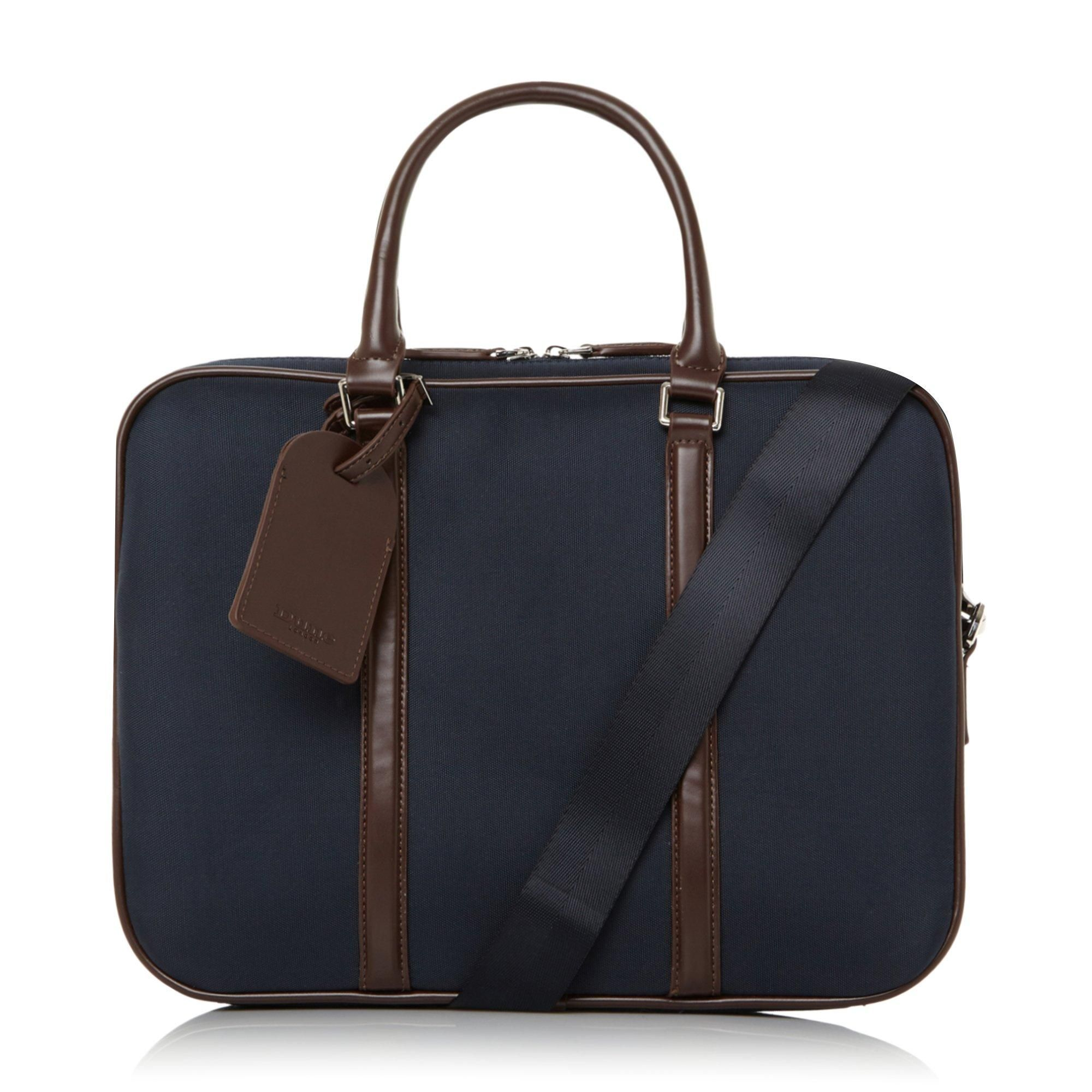 Dune Mens NATHANUEL Nylon Briefcase
