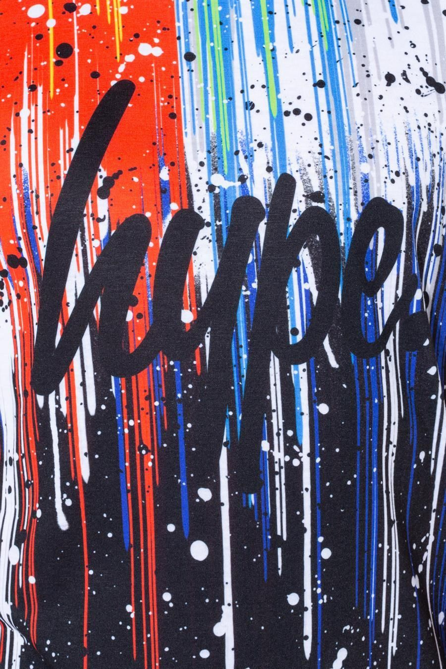 Hype Split Paint Drips Kids T-Shirt