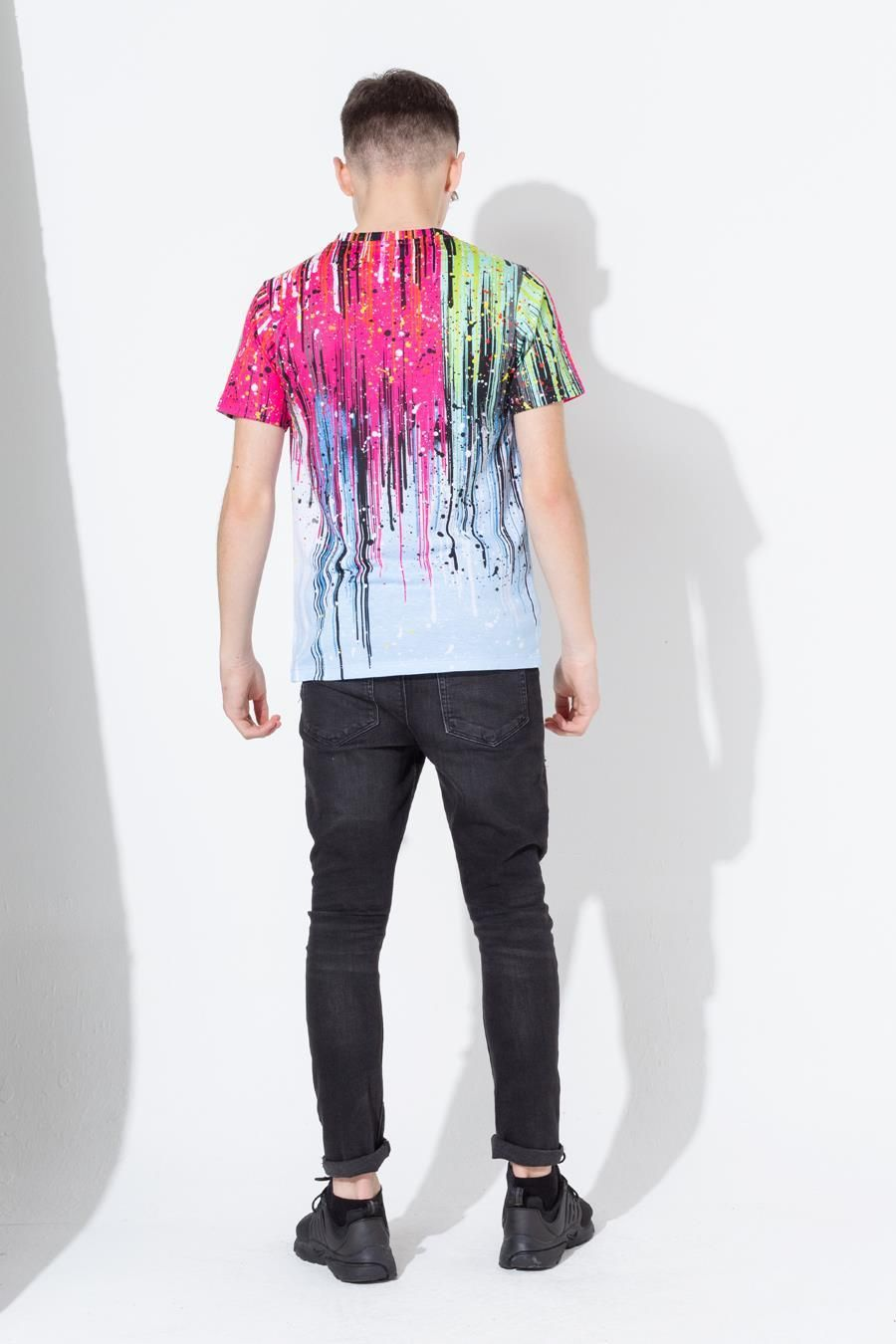 Hype Paint Rain Drips Kids T-Shirt