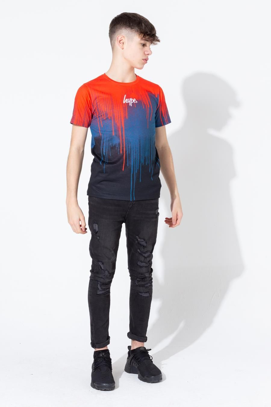 Hype Three Tone Drips Kids T-Shirt