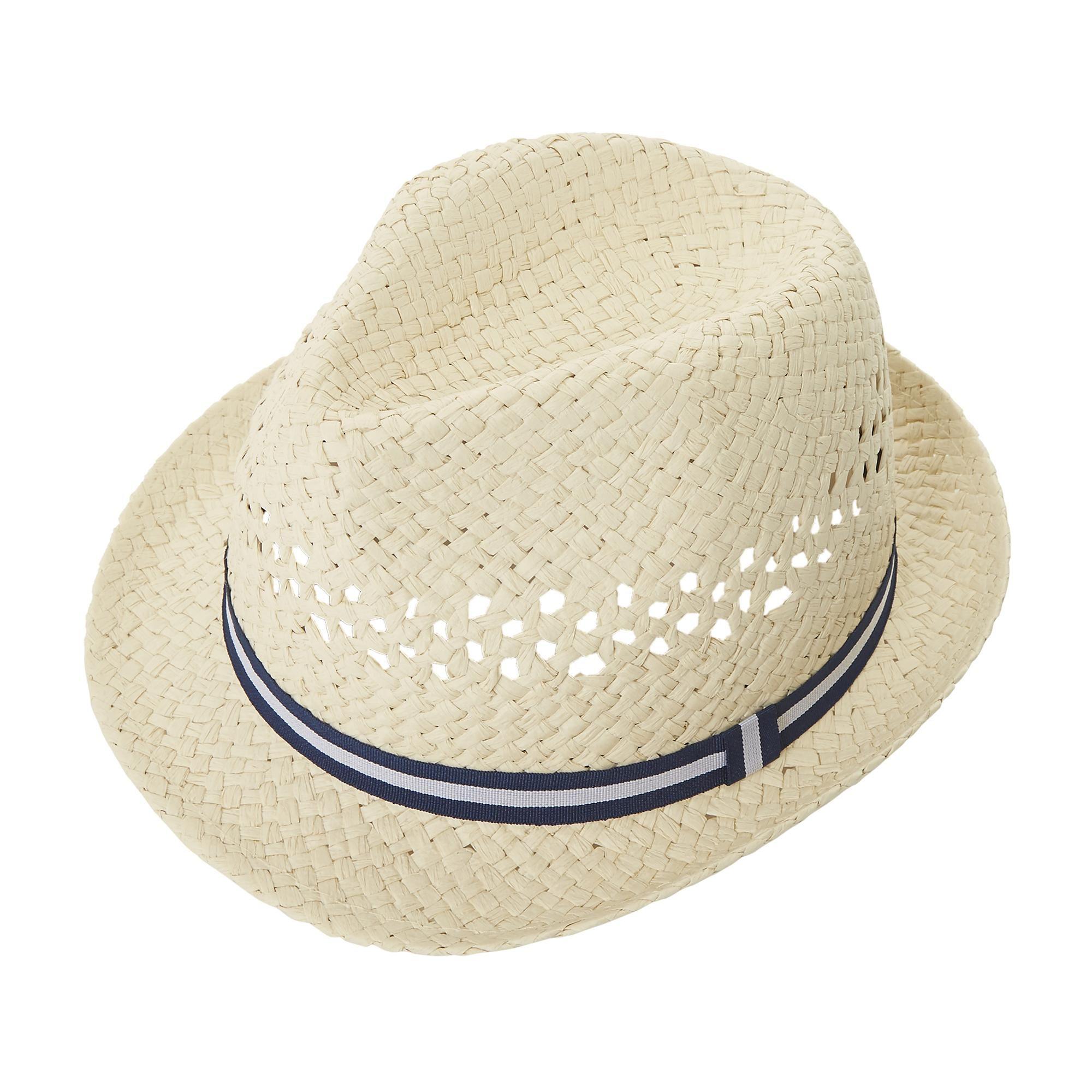 Dune Mens NESTER Tape Detail Trilby Hat