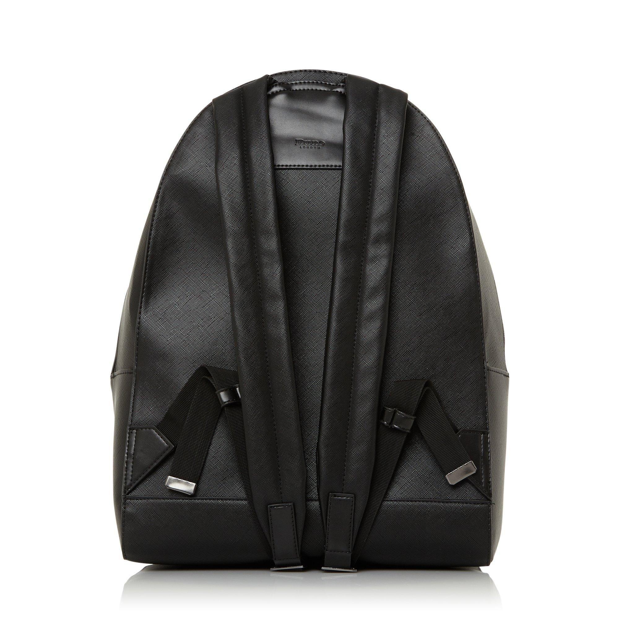 Dune Mens NOVANO Trim Detail Backpack