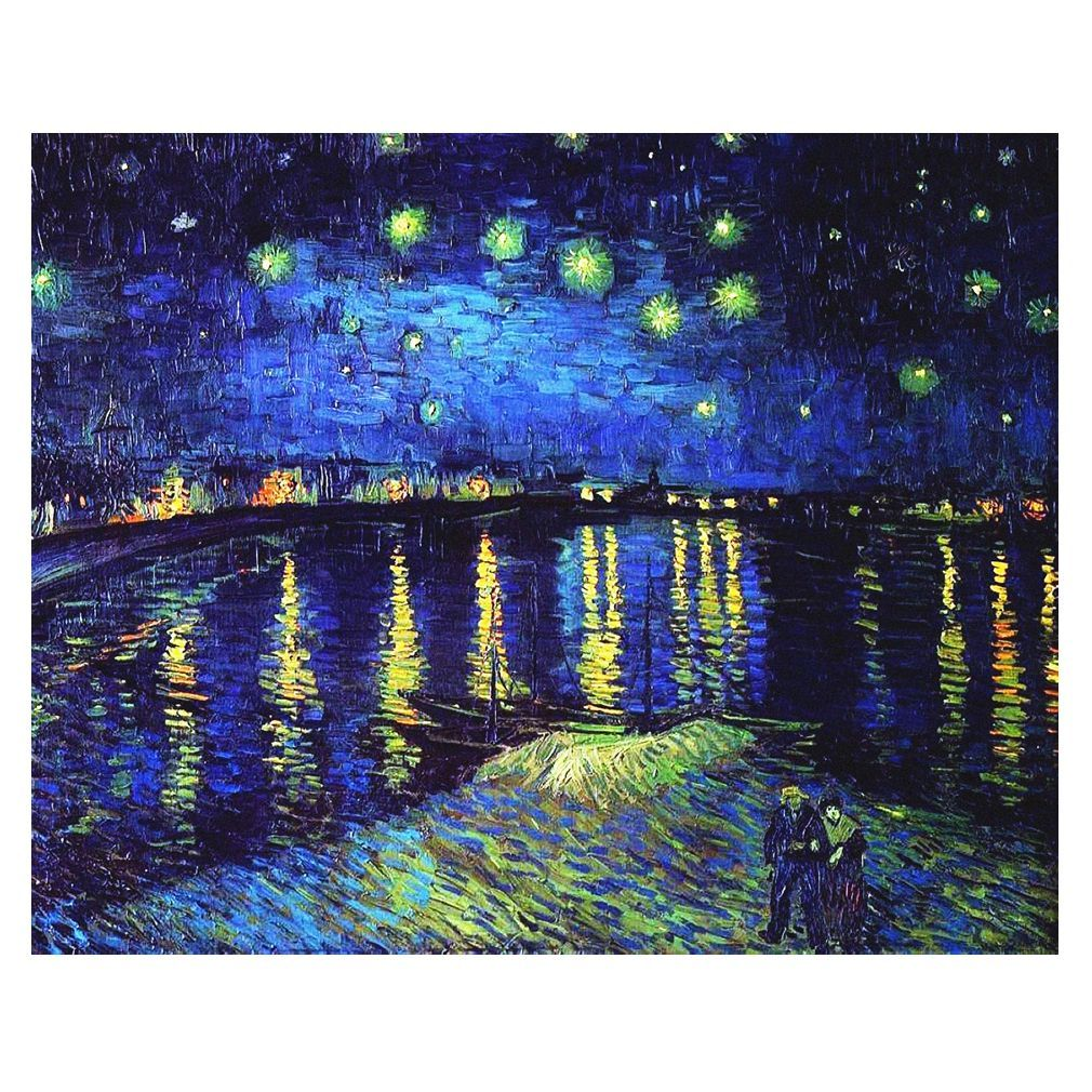 Canvas Print - Starry Night Over The Rhone - Vincent Van Gogh