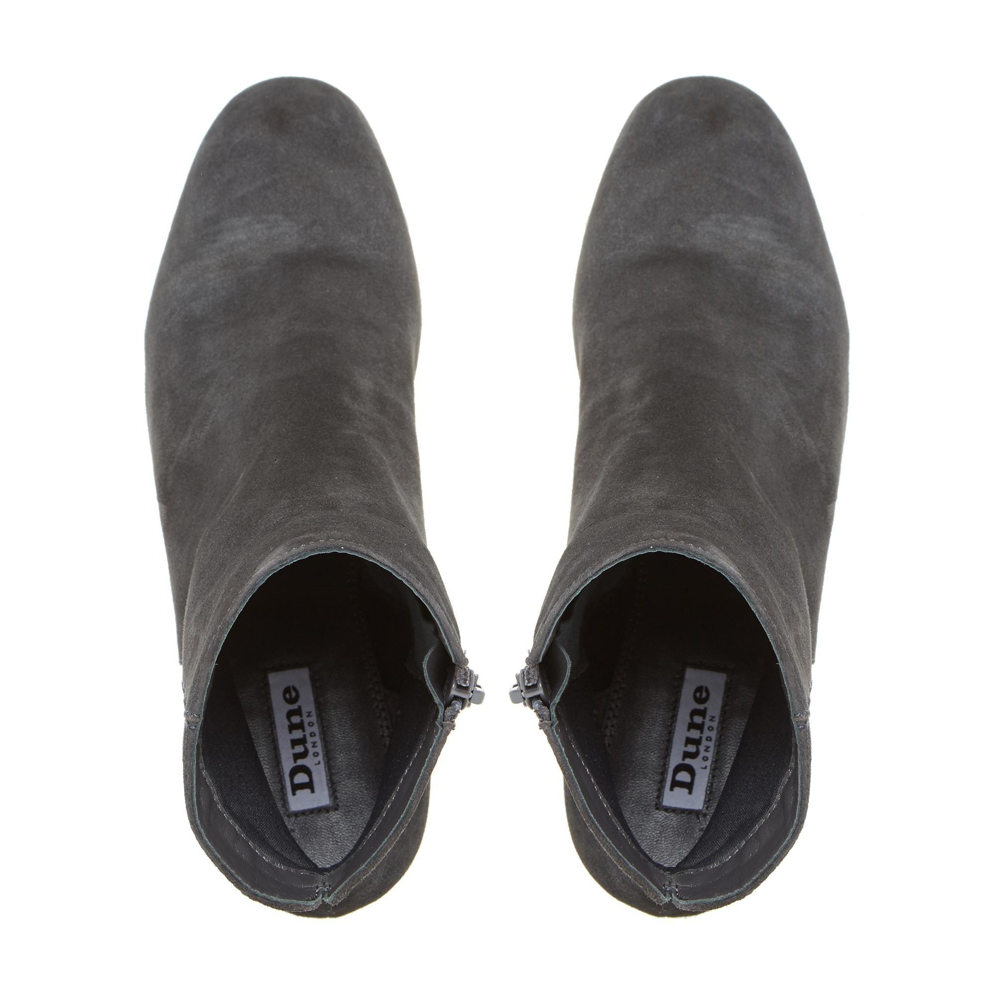 Dune Ladies OLYVEA Mid Block Heel Ankle Boots