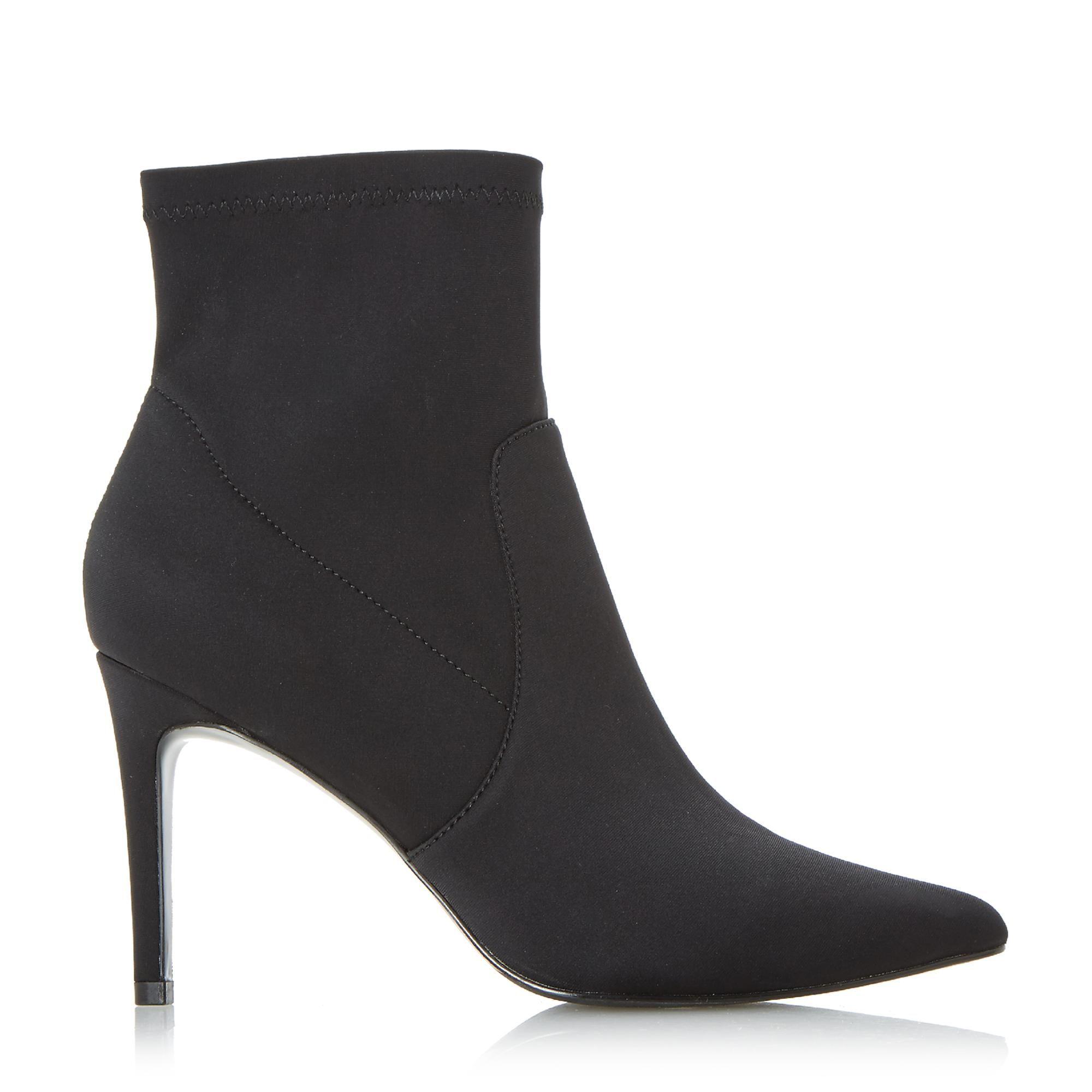 Dune Ladies ORMAND Stretch Heel Sock Boots