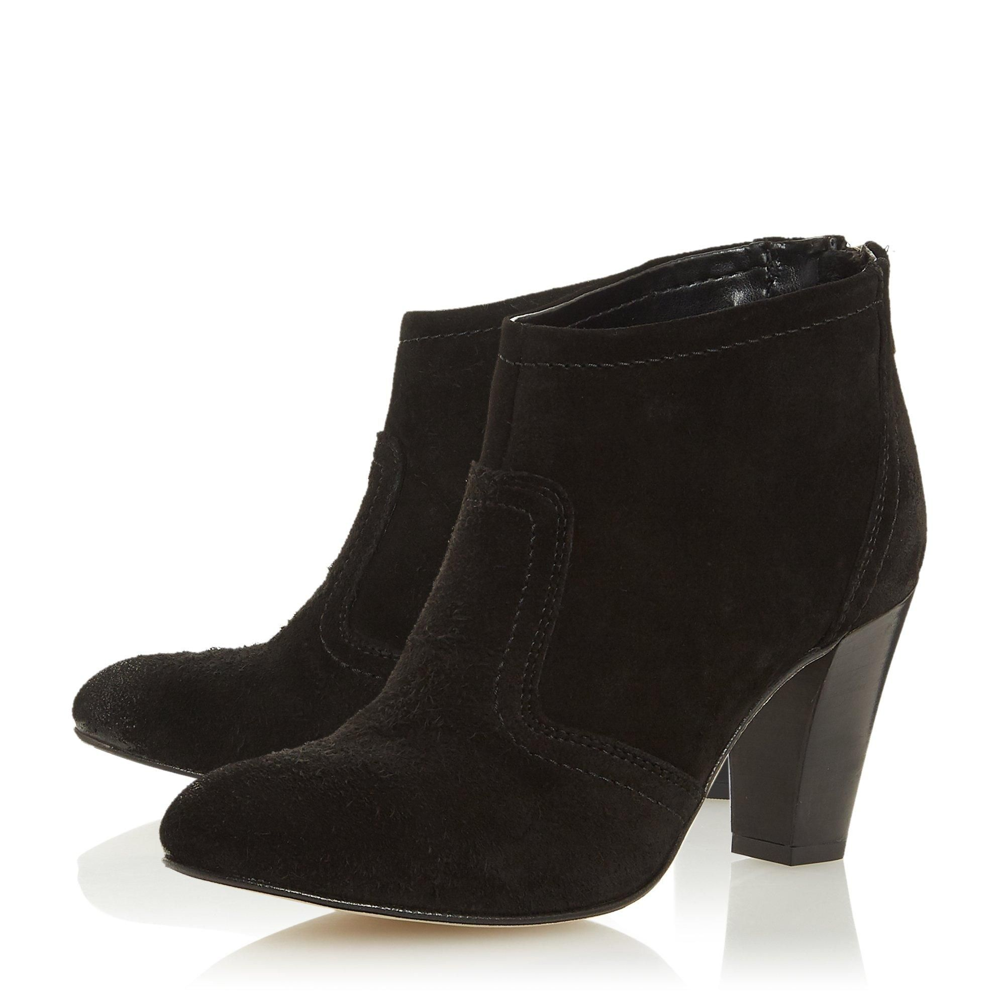 Dune Ladies PENNEYS Western Stacked Heeled Boots