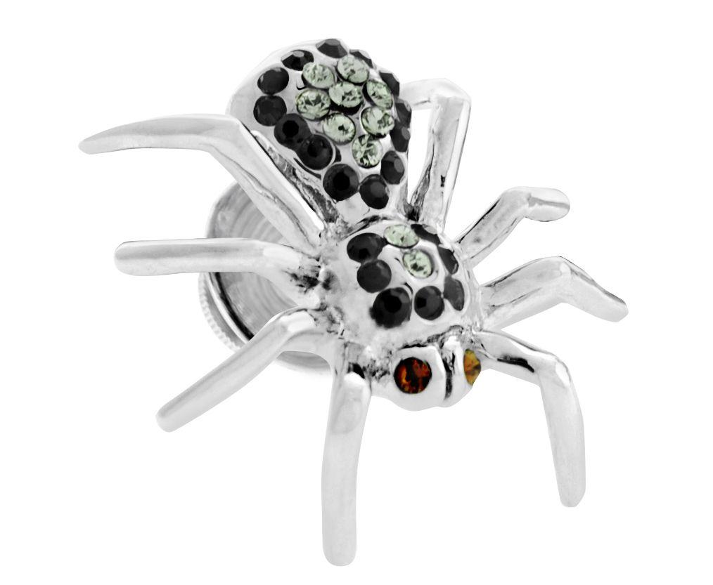 Rhodium  Swarovskiski  MultiC  Spider