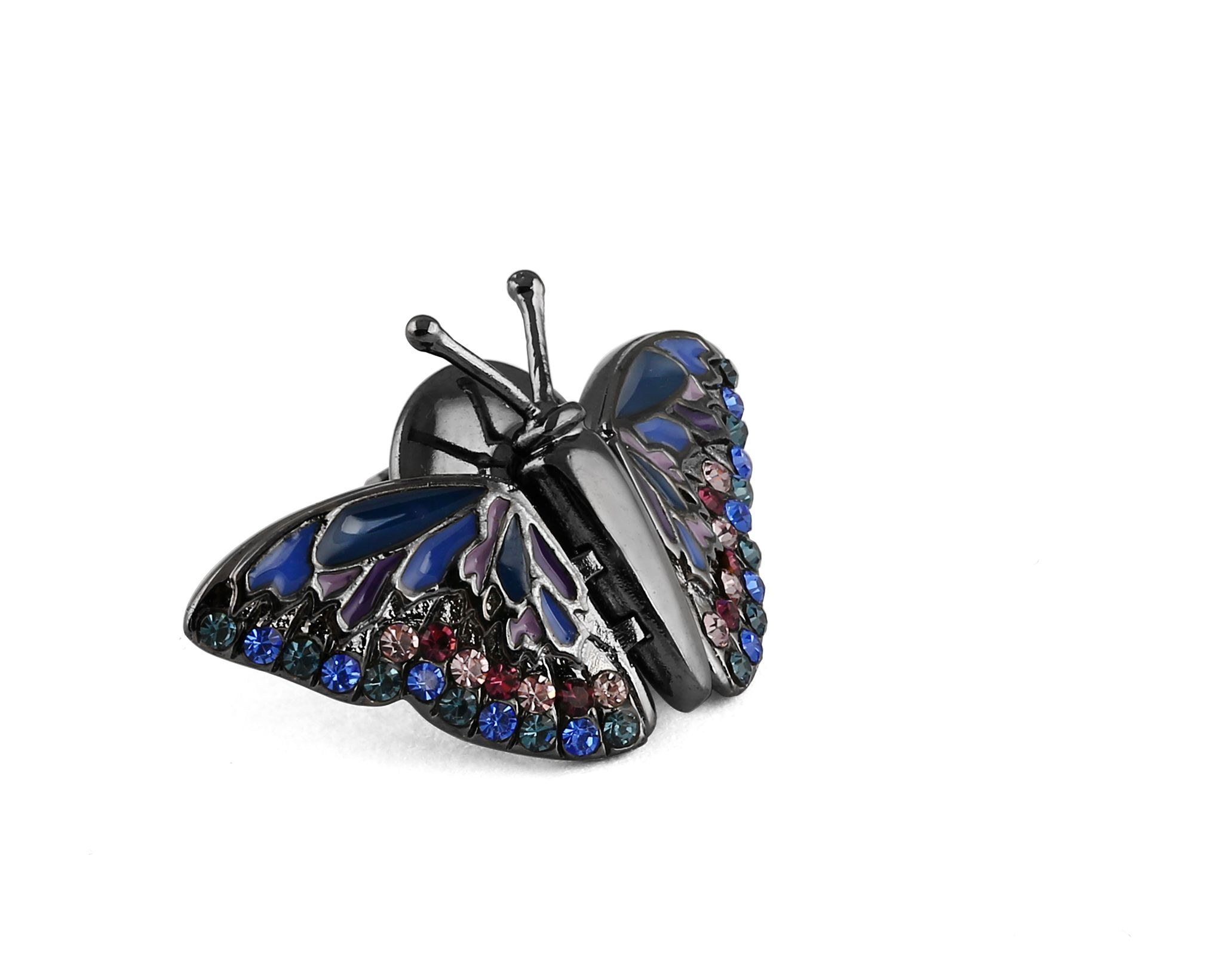 Mechanical butterfly pin