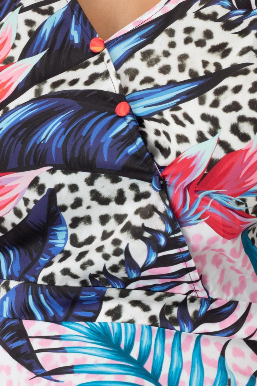 Hype Pastel Jungle Womens Tea Dress