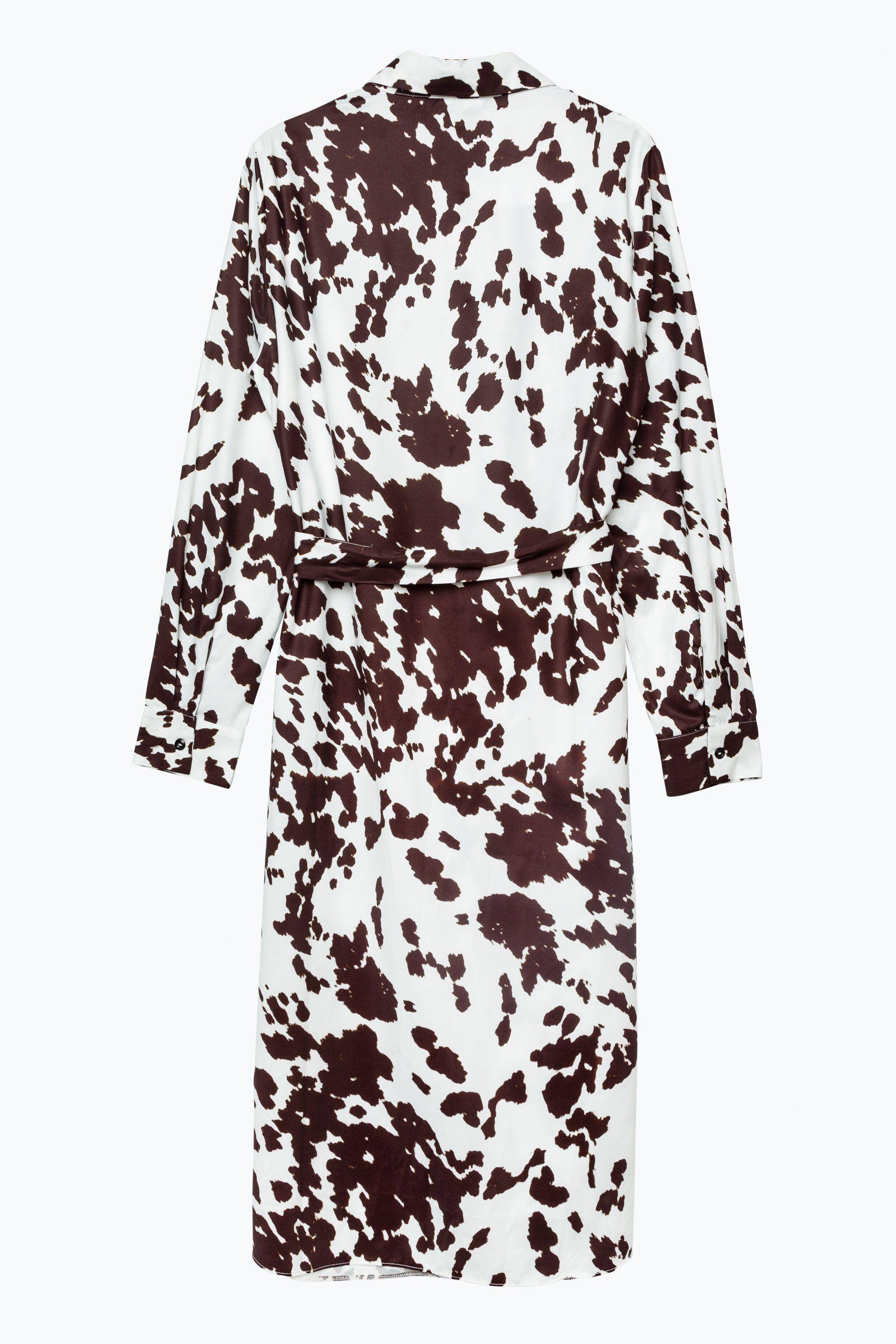 Hype Cow Print Womens Midi Dress