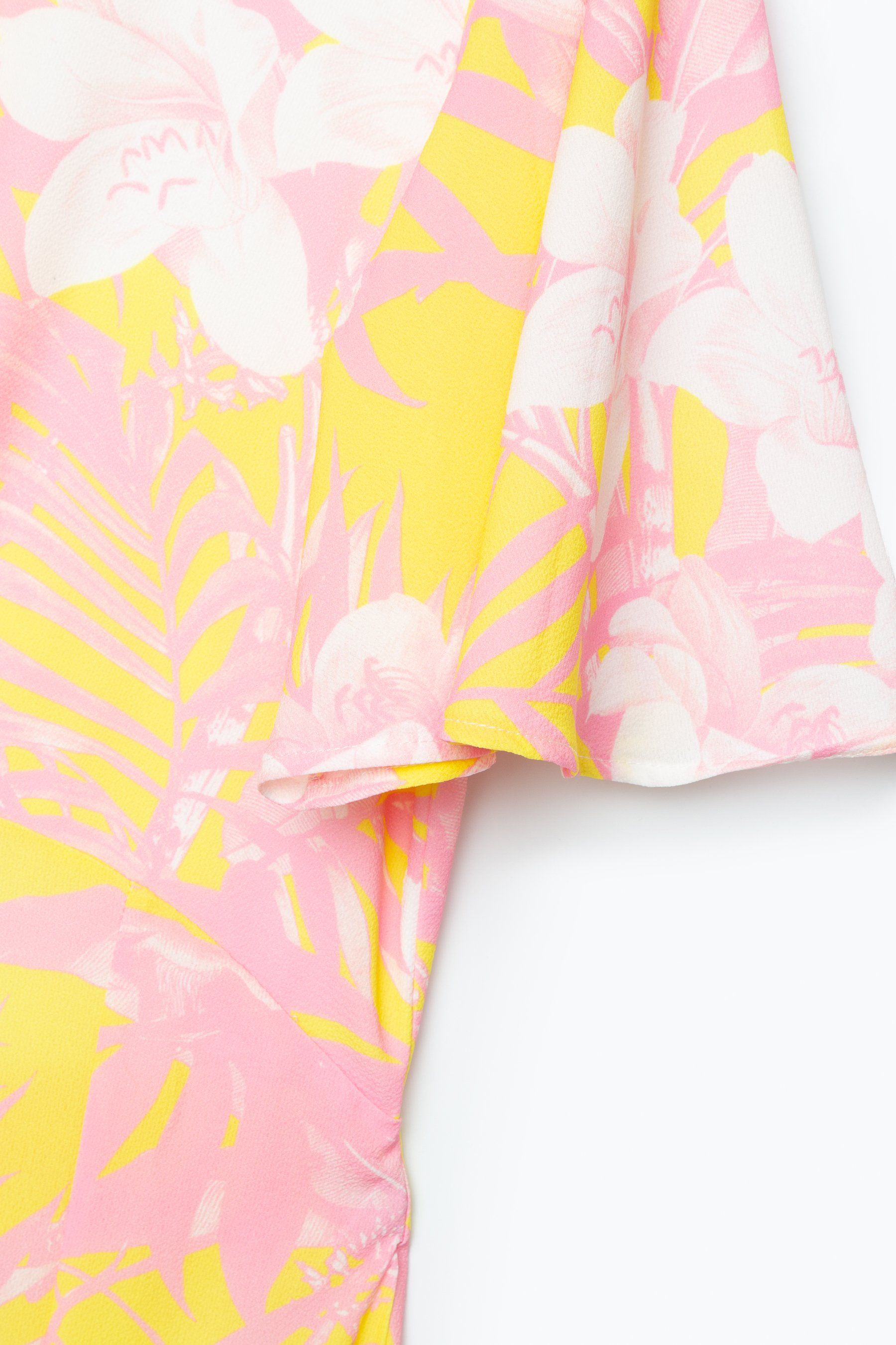 Hype Pastel Floral Womens Maxi Dress