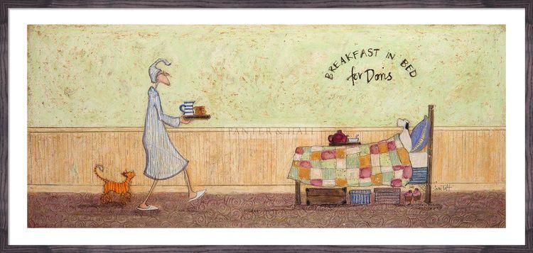 Breakfast in Bed For Doris by Sam Toft
