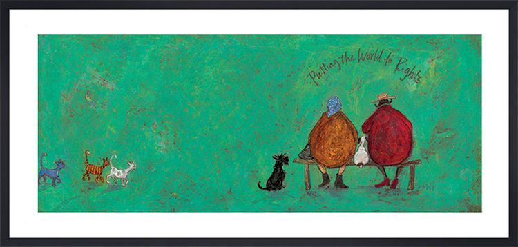 Putting the World to Rights by Sam Toft