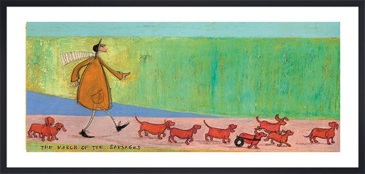 The March of the Sausages by Sam Toft