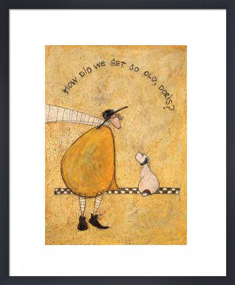 How Did We Get So Old, Doris? by Sam Toft