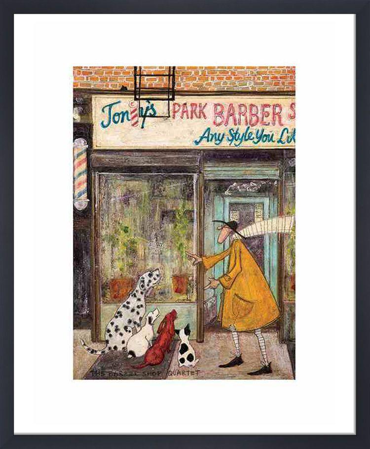 The Barber Shop Quartet by Sam Toft