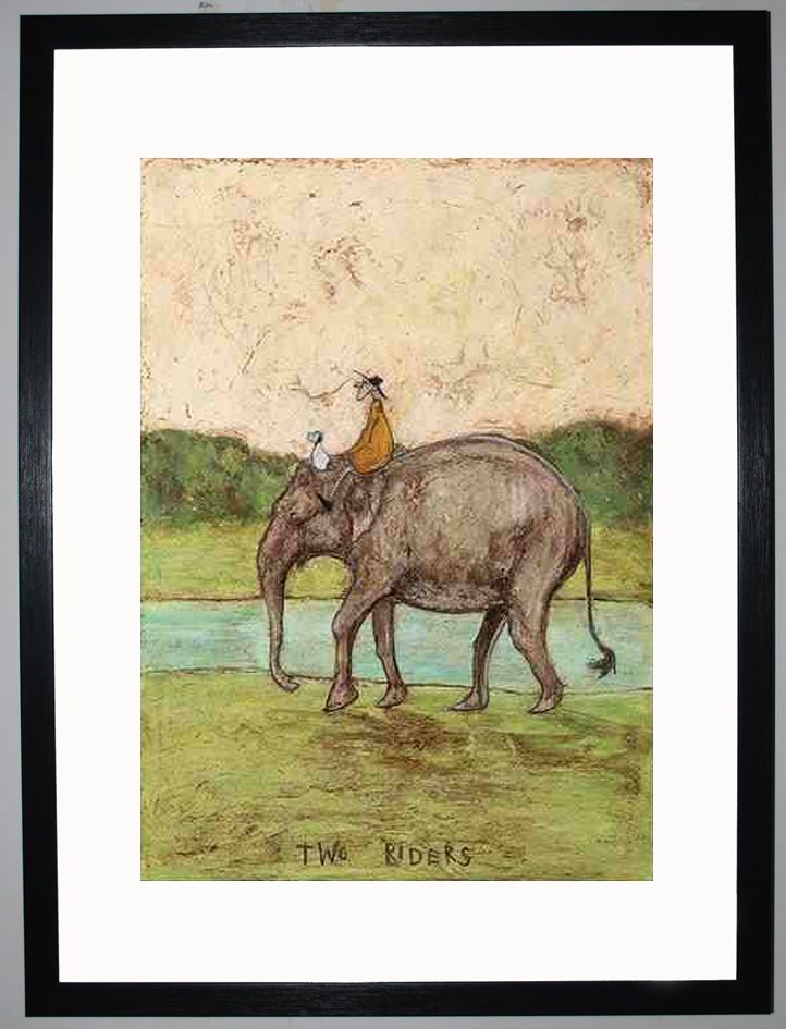 Two Riders by Sam Toft
