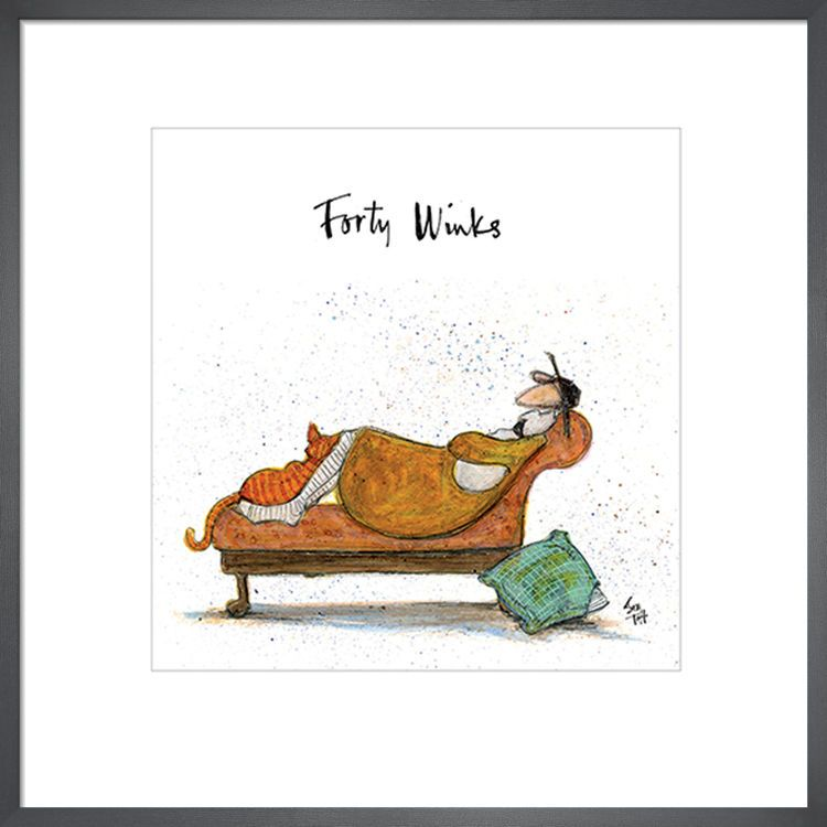 Forty Winks by Sam Toft