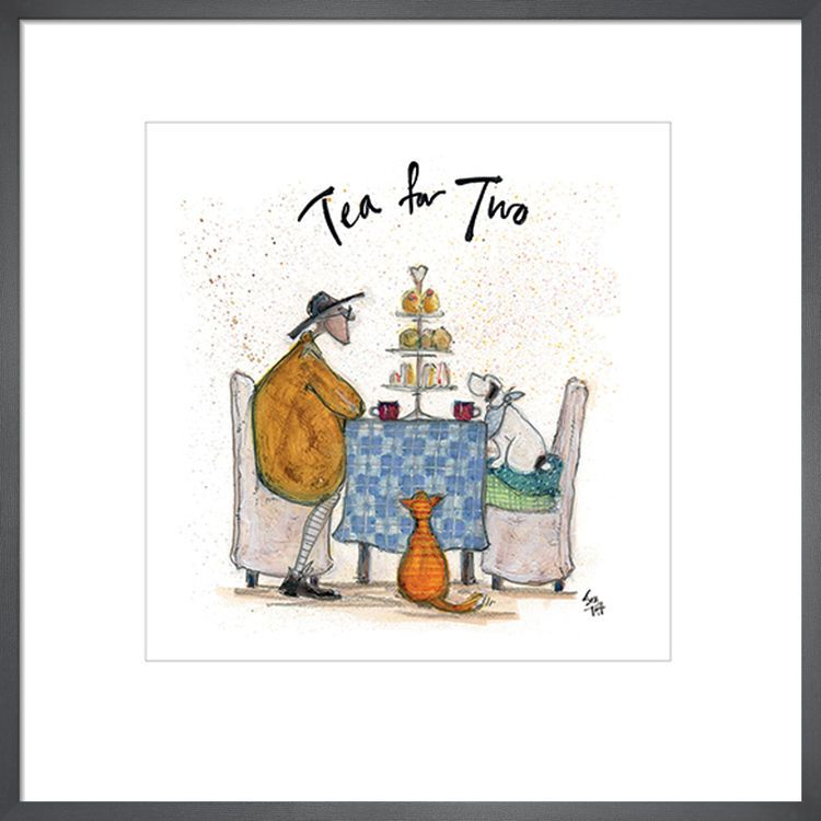 Tea for Two - Colour by Sam Toft