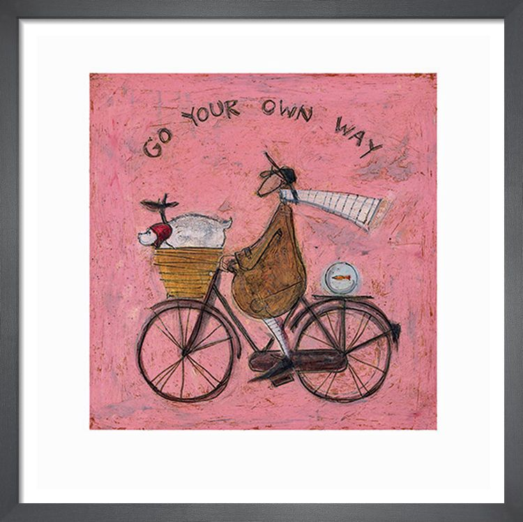 Go Your Own Way by Sam Toft