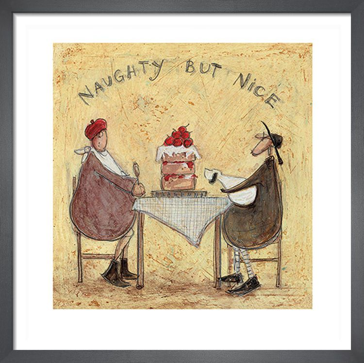 Naughty But Nice by Sam Toft