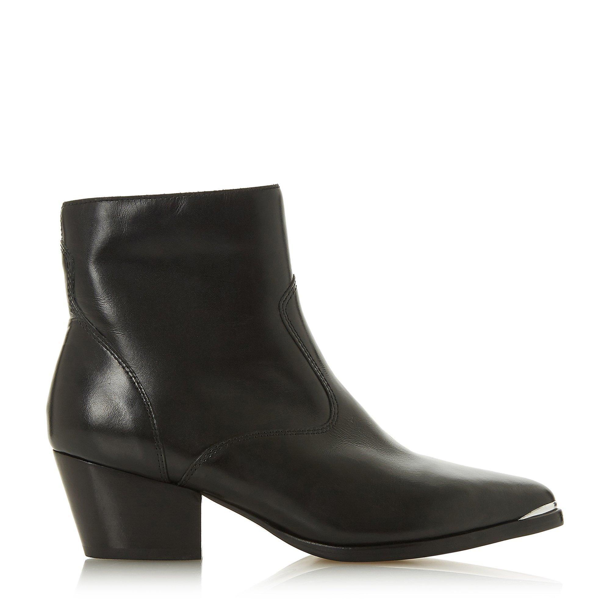 Dune Ladies PRAIRRIE Western Ankle Boots