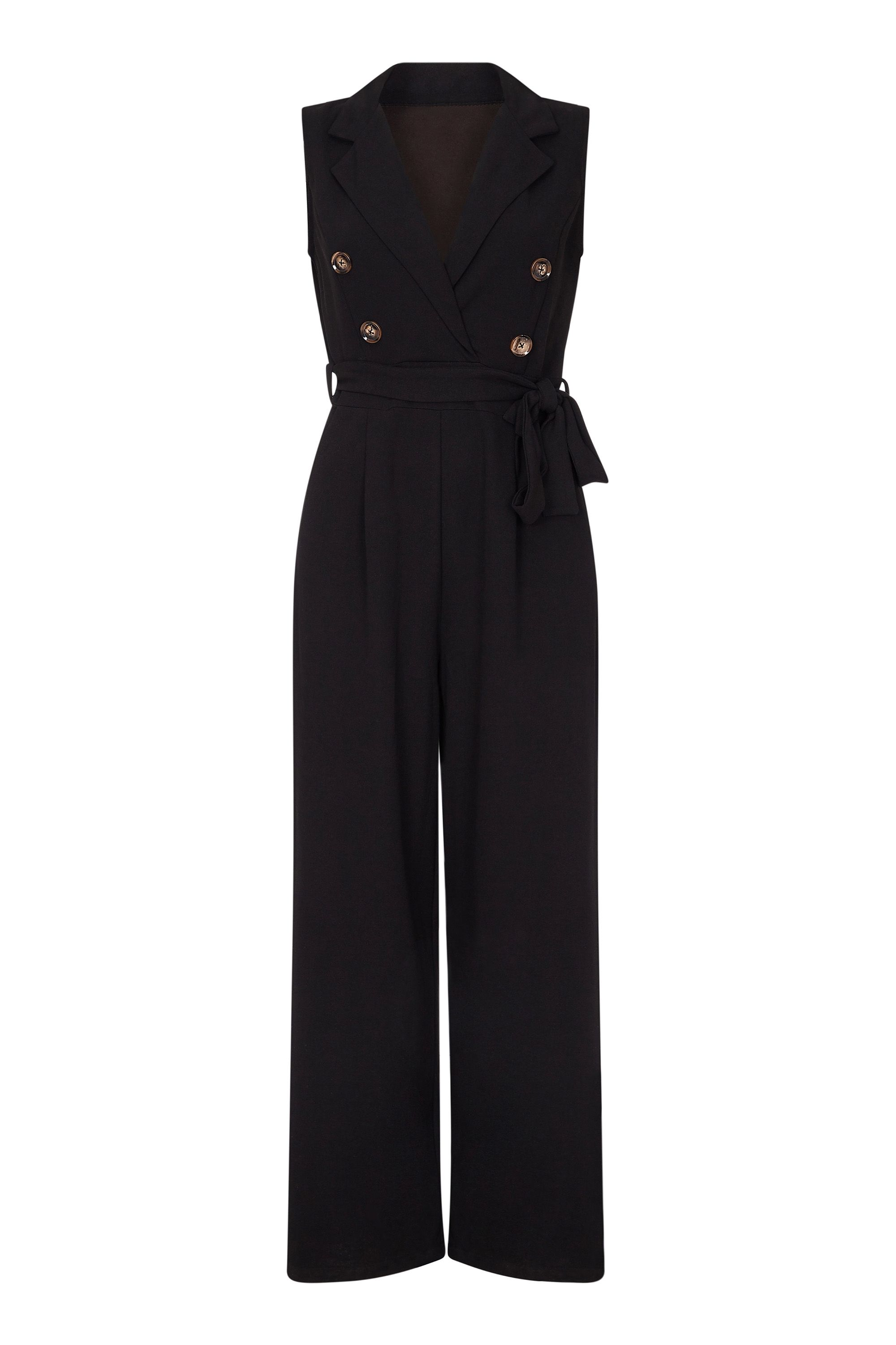 Military Collared Jumpsuit