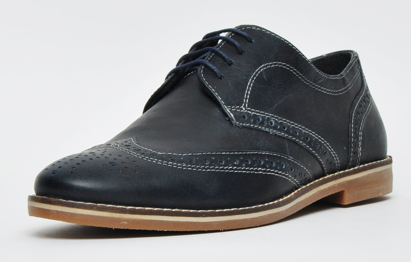 Red Tape Checkley Leather Mens