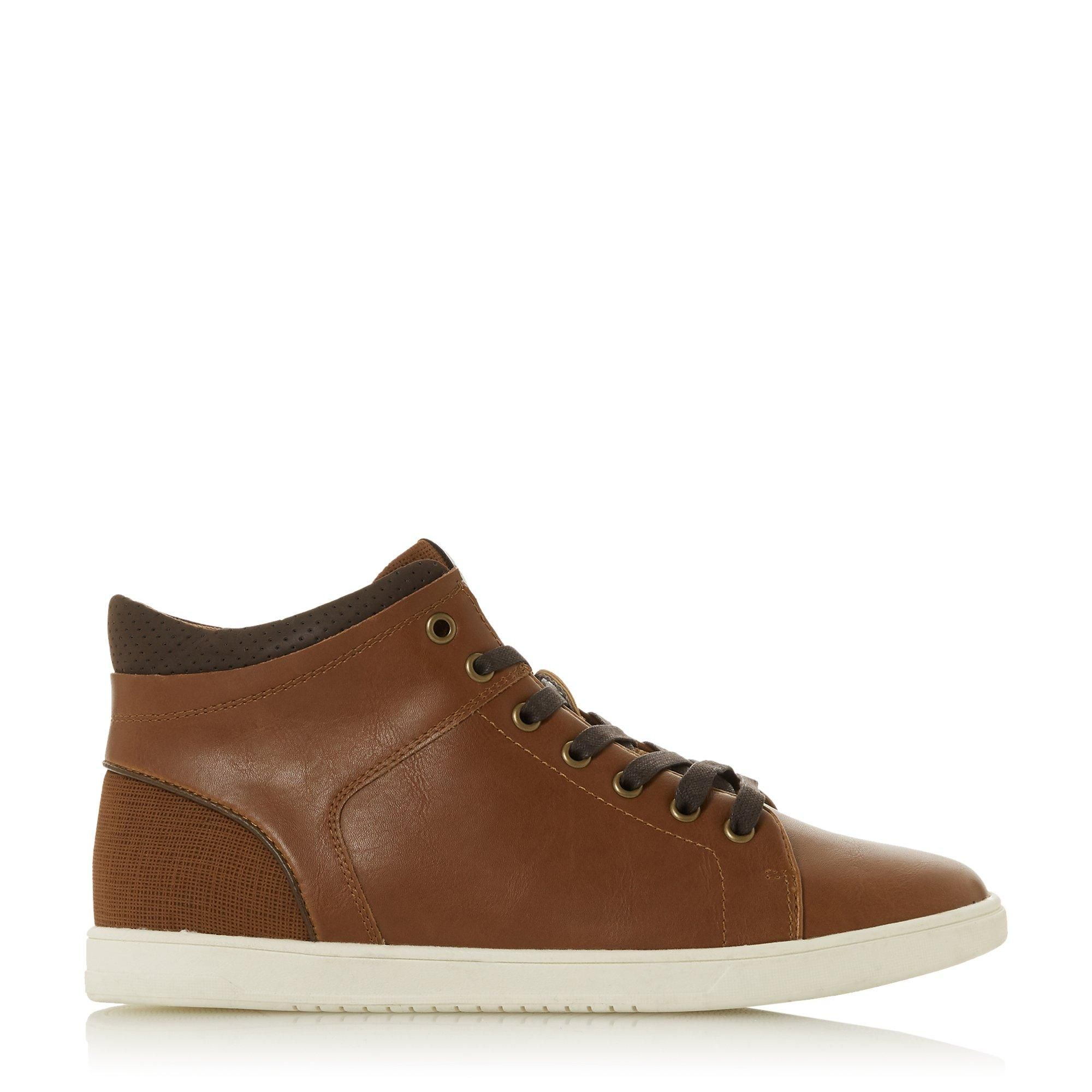 Dune Mens SEVERNE High Top Trainers