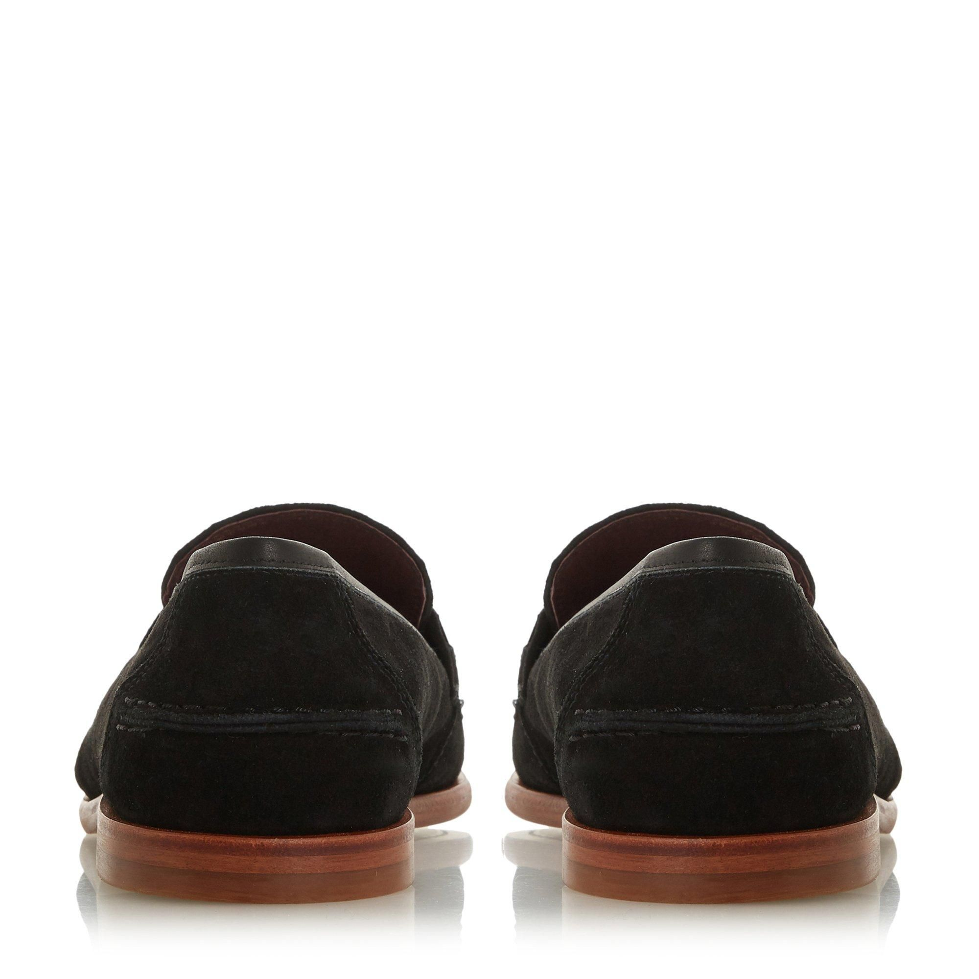 Bertie Mens SURBITON Suede Square Toe Loafer